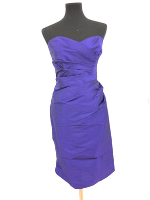 Kennedy Blue Size 10 Purple Short  Formal Dress
