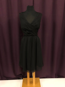 Kennedy Blue Size 12 Black NEW Formal Dress