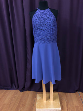 Kennedy Blue Size 12 Purple Formal Dress
