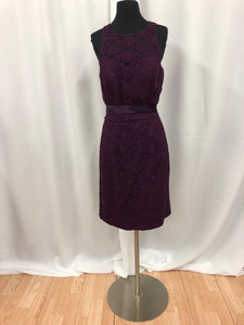 Kennedy Blue Size 12 Purple Lace Formal Dress