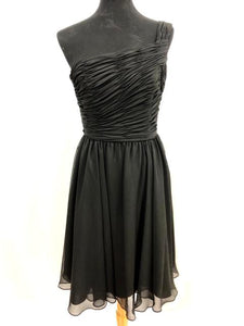 Kennedy Blue Size 6 Black Rushing  Formal Dress