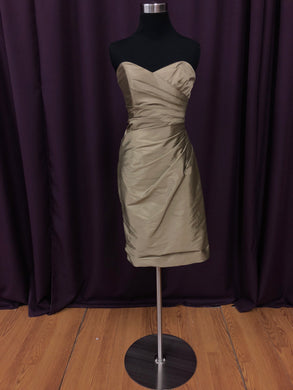 Kennedy Blue Size 6 Brown Short  Strapless Formal Dress