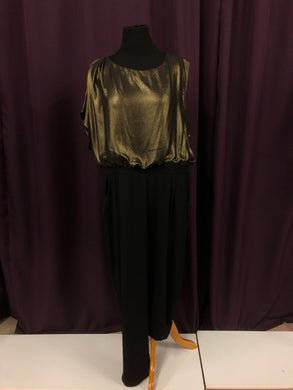 Landa Size 24 Gold Formal Dress