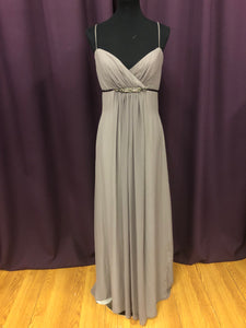 Lazaro Size 12 Brown Belt  Pearl Rhinestone Bead Formal Dress