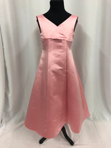 Little Maiden Size 5 Pink Flower Girl Dress