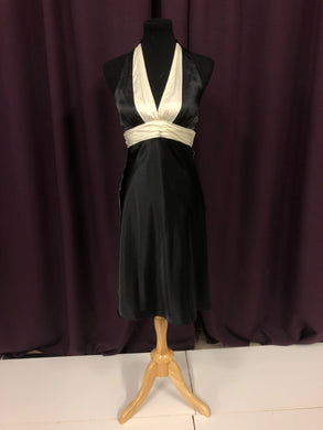 Night Moves Size 8 Black Formal Dress