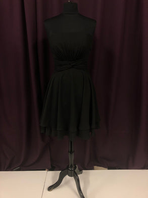 Pretty Maids Size 12 Black Short  Formal Dress