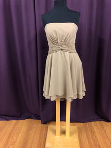 Pretty Maids Size 14 Brown Short  Formal Dress
