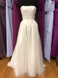Rena Koh Size 10 Ivory Bead Wedding Dress