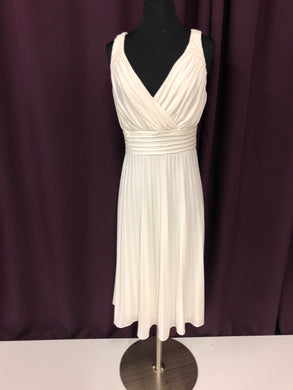 Size 12 White Formal Dress