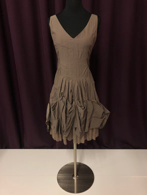 Size 4 Brown Formal Dress