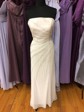 Size 6 Ivory Bead Wedding Dress