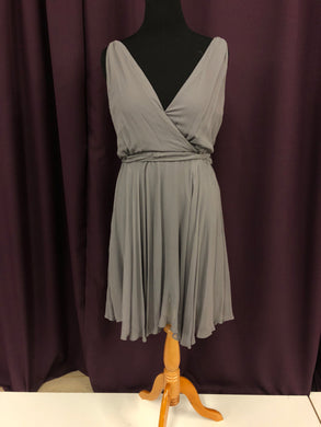 Swoon Size 12 Gray NEW Formal Dress