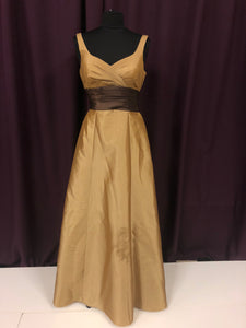 Venus Size 12 Brown Belt  Formal Dress