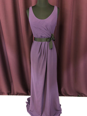 Vera Wang Size 2 Purple Formal Dress