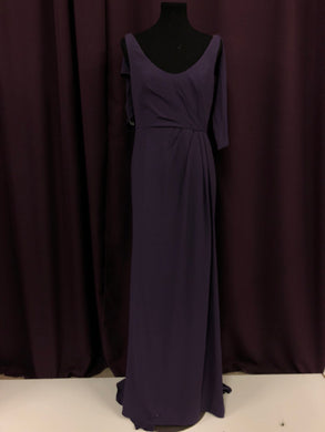 Vera Wang Size 8 Purple Formal Dress