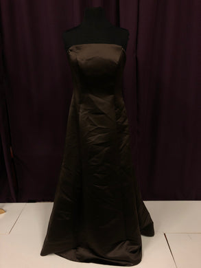 Wtoo Size 10 Brown Formal Dress