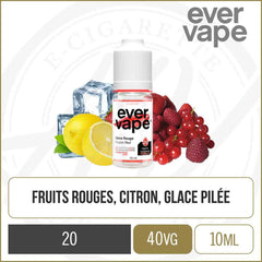 Glace Rouge (Sels de Nicotine)