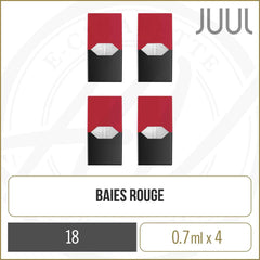 Baies Rouges (4 pods)