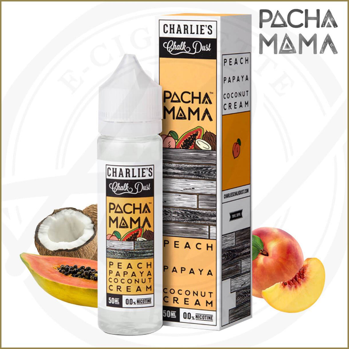 E-Liquides Pacha Mama | Peach Papaya Coconut Cream