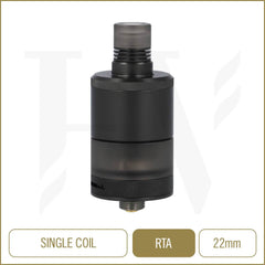 Precisio MTL RTA Black Carbon
