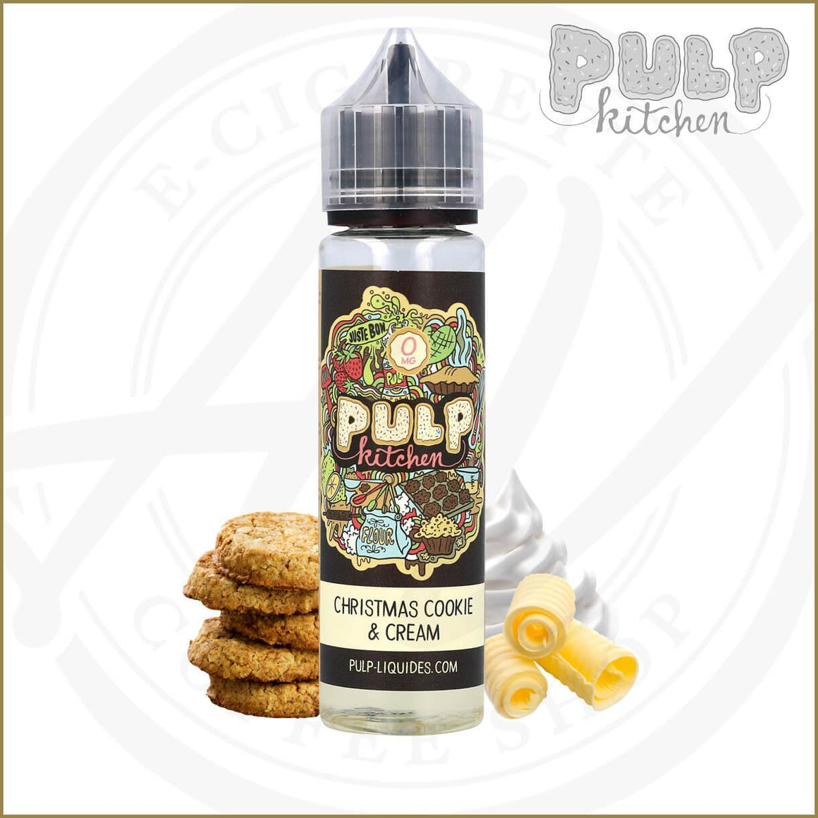 Pulp Kitchen | Christmas Cookie & Cream 50ml