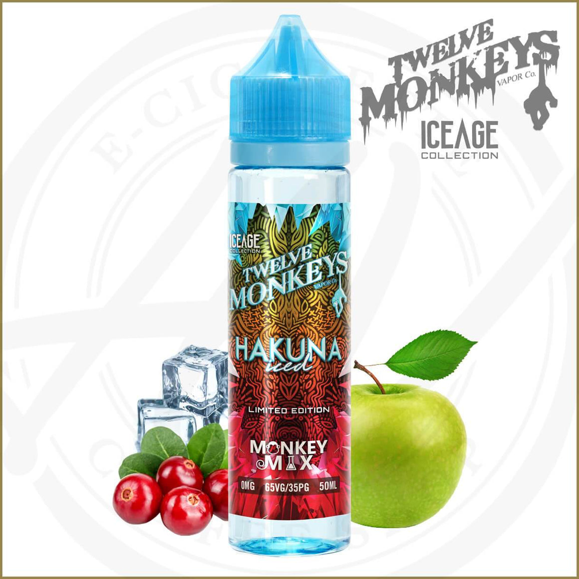 E-Liquides Twelve Monkeys Ice Age | Hakuna Iced
