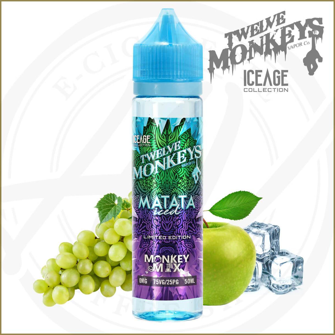 E-Liquides Twelve Monkeys Ice Age | Matata Iced