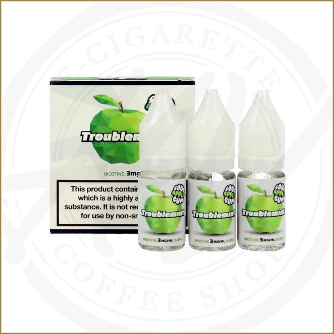 E-Liquides - Sour Apple Gum