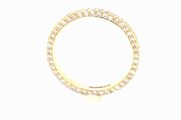 18ct Yellow Gold Full Hoop Eternity Ring 0.95ct