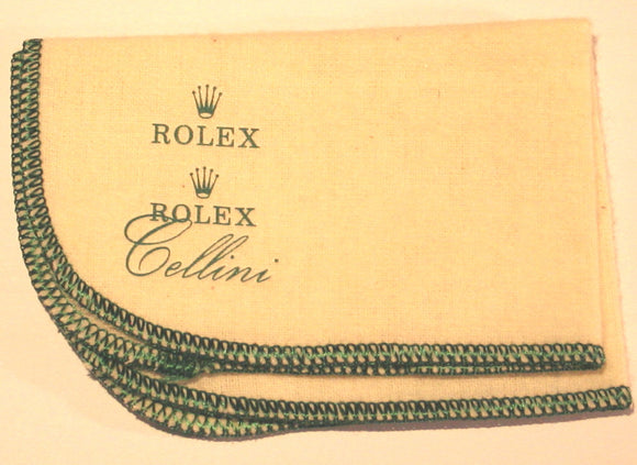 Rolex Polishing Cloth