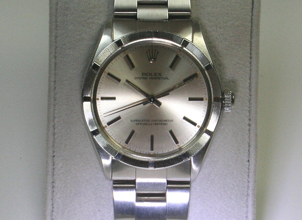 Rolex Oyster Perpetual All Steel Just Serviced, Ref:- 1007, 1983