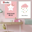 Poster Toile - Étoile - Twinkle twinkle little star