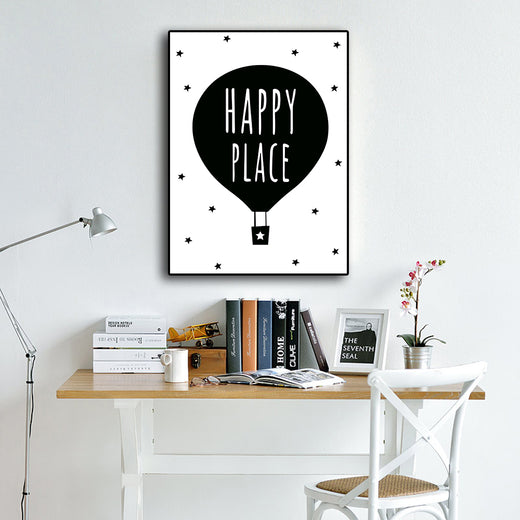 Poster Toile - Happy Place