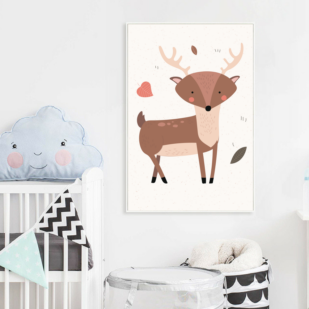 Poster Toile - Cerf sauvage