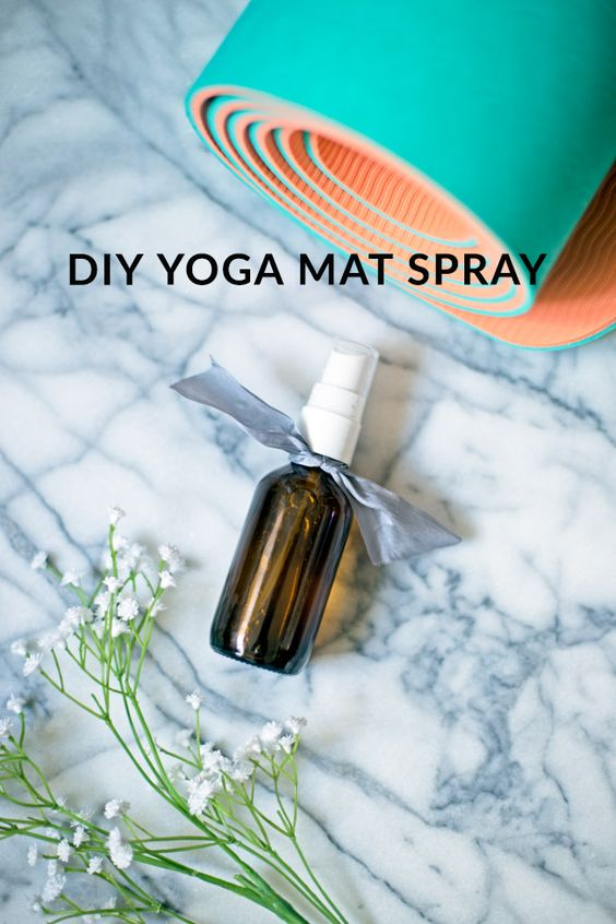 Eco-Friendly Yoga Mat Cleaner