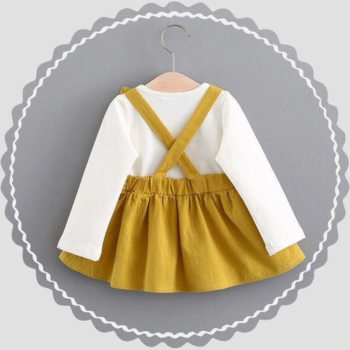 0-3 Years Old Autumn Baby Kids Toddler Girl dress - Cozzoo