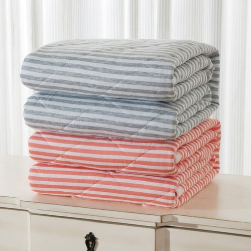 100% Cotton Striped Gauze Towelling - Cozzoo
