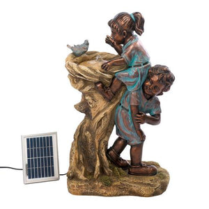 Cool Drink Children Solar Fountain - Cozzoo