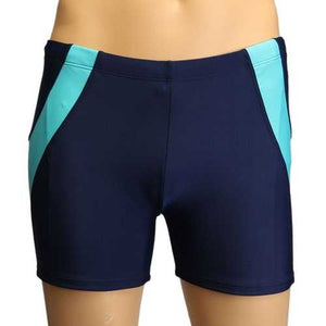 Men Quick Drying Summer Beach Swimming Shorts Swimwear Board Shorts Swimming Trunk - Cozzoo