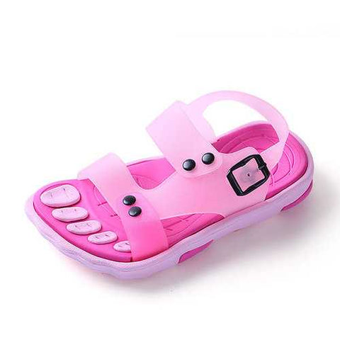 Boys Girls Summer Beach Sandals Children Slip Resistant Wear-resistant Shoes Kids Slippers - Cozzoo
