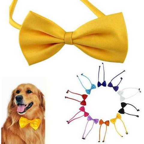 Multicolor Pet Dogs Bow Tie Dog Neck Tie Cat Tie Pet Grooming Supplies - Cozzoo