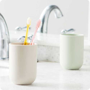 350ML Food Grade PP Coffee Tea Cup Water Bottle Toothbrushing Rinsing Cup Toothbrush Holder Mug - Cozzoo