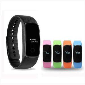 Smart Watch Heart Rate Health Monitor Step Counter Distance Measurement Bracelet for iPhone Android - Cozzoo