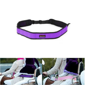 Adjustable Motorcycle Safety Belt Kids Electric Scooters Safe Strap Children 110-145cm - Cozzoo