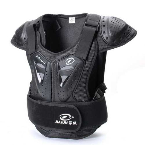 Kids Protective Armor Riding Gears Children Bodyguard Vest S M L Jacket Body Gears - Cozzoo