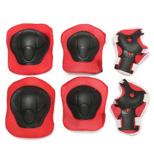 6Pcs Children Kids Elbow Knee Pad Wrist Guard Protector For Skateboard Skating Skiing - Cozzoo