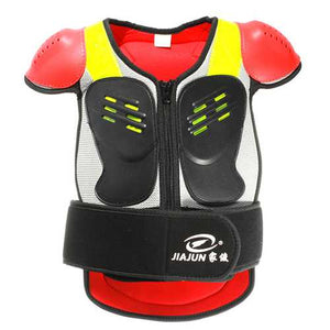 Children Protective Armor Kids Football Riding Gears Electric Scooter Sport Body Vest Jacket S M L - Cozzoo