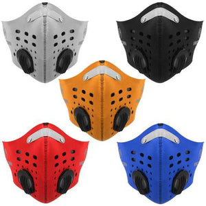 BIKIGHT Face Mask Half Anti Dust Pollution Filter for Sport Cycling Motorcycle - Cozzoo