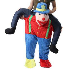 Hallowen Christmas Shoulder Carry Me Buddy Ride On A Shoulder Piggy Back Piggy Ride-On Fancy Dress Adult Party Costume Outfit - Cozzoo
